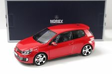 1:18 norev VW Golf GTI 6 2009 red new en Premium-modelcars