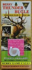 Package of 2 Berry Thunder Bugle Elk Game Call Replacement Reeds RT-White Thin