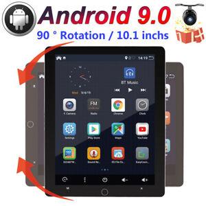 "10.1""Rotation Android 9.0 Universal Radio GPS Head unit Car Radio NAVI WIFI BT"