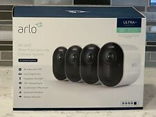 Arlo Ultra 4K Uhd Wire-Free Security 4 -Camera System Indoor/Outdoor - Used Mint