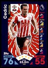 Match Attax 2016-2017 Cedric Southampton Base card No. 220
