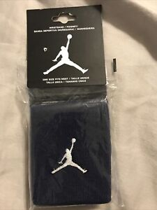 NIP New Air Jordan Wristband - Blue.  2 in package.
