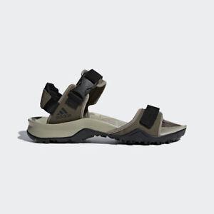 Adidas CM7525 Men Outdoor Cyprex Slippers Ultra TW Sandals green black beige