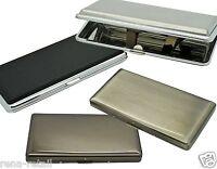 ZIGARETTENETUI aus Metall für 100 / 120 mm Zigaretten - 100er 100mm Kingsize