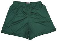 Dark Green Nylon Mini Mesh Shorts by Soffe - Men's XL