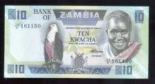 10 Ten Kwacha van Zambia nieuw ,,zie foto's ,,Nr 3386 ,,ook thuis afhalen ,,