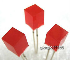 100pcs 5x5x7mm Red Leds Lamp Light Red Diffused Lens