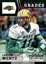 2016 Panini Contenders Draft Picks Passing Grades #8 Carson Wentz Eagles