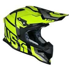 Just1 J12 Unit gelb-fluo Gr. 58-M Motocross Enduro Motorrad Helm MX MTB NEU/NEW
