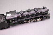 ZB338 IHC train motrice vapeur Ho locomotive americaine avec tendeur 2478 D.W.P