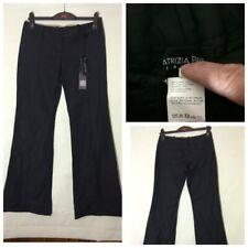 Patrizia Pepe Womens Black Cotton/Nylon Trousers 44(943)
