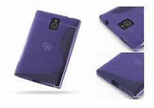 Blackberry Passport - TPU Anti-Scratches Silicone rubber Soft Back Case Cover