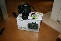 Kamera Canon EOS 1100d Reflex Digital + Ziel 18-55+ Box + SD 16gb