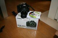 Fotocamera Canon EOS 1100d reflex digitale + obiettivo 18-55 + scatola + sd 16gb