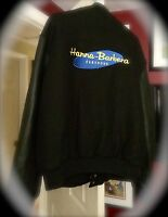 Vintage Hanna Barbera  Leather & wool Bomber Jacket Size L/XL Exteremely Rare