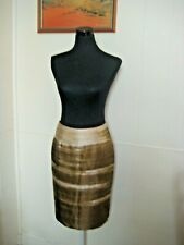 CARLA ZAMPATTI Pure Silk Knee-Length Pencil Skirt S (8-10)