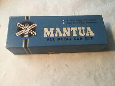 Vintage Brass & Metal Unpainted Box Car Kit / Mantua HO Scale NOS NR!