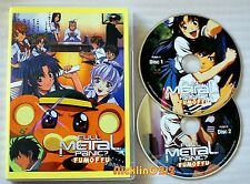 Full Metal Panic? FUMOFFU - The Complete 12 Episodes DVD Collection New in USA