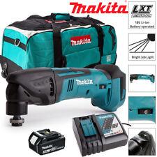 Makita DTM50Z 18V Oscilante Multiherramienta Con 1 X 3Ah BL1830, DC18RC y LXT600 Bolsa