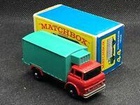 Vintage Matchbox Lesney No 44, Refrigerator Truck, Original E4 Box, Mint