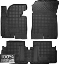 Rubber Carmats for Kia Sportage 2010-2015 All Weather Floor Mats Fully Tailored