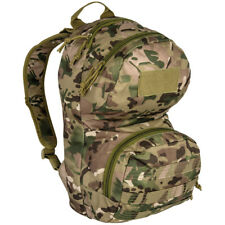 Highlander Scout Pack Army Military Backpack Cadet Hiking Rucksack 12L HMTC Camo