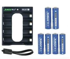 6X1.5v  AA 3000MAH Li-polymer  lithium rechargeable battery with Charger set