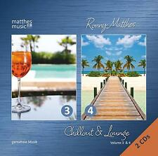Chillout & Lounge, Vol. 3 & 4 [Piano Lounge, Ambiente, Barmusik} 2 Gemafreie CDs
