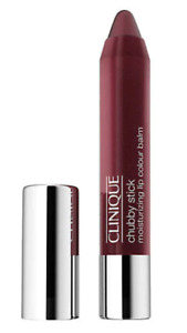 Clinique Chubby Stick CHUNKY CHERRY Lip Color Balm 0.10oz/3g NEW FRESH BOXED