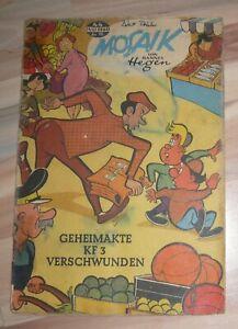 Digedags Mosaik Nr. 44 - Geheimakte KF 3 verschwunden * Hannes Hegen Dig Dag
