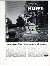 1960 Print Ad Huffy Power Drive Lawn Mowers Briggs & Stratton Dayton,OH