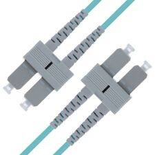 SC to SC OM3 Fiber Patch Cable Multimode Duplex - 3m (9.84ft) 10Gb - Beyondtech