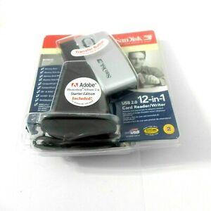 SanDisk ImageMate 12-in-1 SDDR-89 V4 Card Reader/writer USB