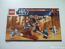 LEGO Notice Instruction / 9491 Star Wars Geonosian Cannon