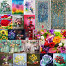 5D DIY Full Drill Diamond Painting Flowers Cross Stitch Hand Embroidery Kits