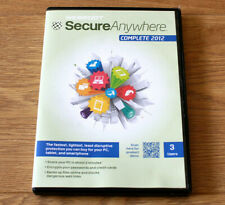 WEBROOT Secure Anywhere Complete 2012 Protection for 3x Users or Devices