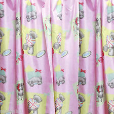 """NEW~TATTY TEDDY ME TO YOU VINTAGE 66"""" X 54"""" CURTAINS"""