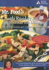 Mr. Food's Comida Rapida y Facil para Persons con Diabetes (Spanish Edition)