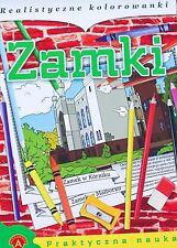 Dla dzieci Zamki kolorowanka + legendy polskie, europejskie  2 audio Cd polska