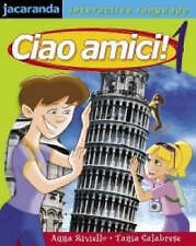 Ciao Amici! 1 by CALABRESE (Paperback, 2003) - BOOK ONLY NO CD