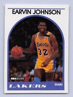 "1989-90  EARVIN ""MAGIC"" JOHNSON - Hoops Basketball Card #270 -LOS ANGELES LAKERS"