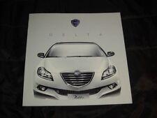 Lancia Delta prospekt/brochure 2011