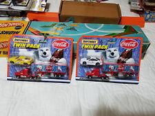 Matchbox Coca Cola Twin Pack with a Coke 18 Wheeler Semi Truck & Car