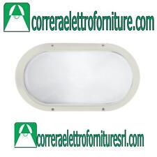 Plafoniera vetro parete soffitto esterno PRISMA SUPERDELTA bianco E27 001700