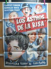 1210    LOS ASTROS DE LA RISA CHARLES CHAPLIN COMICOS AÑOS 50