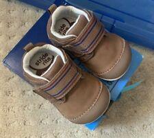 Stride Rite Boys Sz 3 Shoes Kids Xw Sm Cameron Brown Shoes