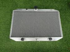 aluminum radiator Fit Jaguar XK-E/E-TYPE V12 5.3L Series 3 III 1971-1974 62MM