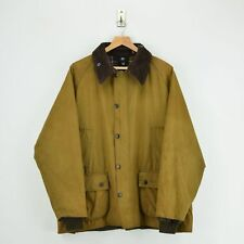 Vintage Barbour Bedale A835 Classic Brown Wax Jacket Coat Made In UK XL