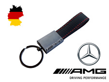 Mercedes Benz AMG Carbon Fibre Effect Key Ring
