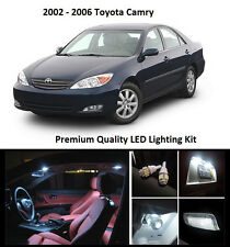 2002 - 2006 Toyota Camry Premium White LED Interior Package (10 Pieces)